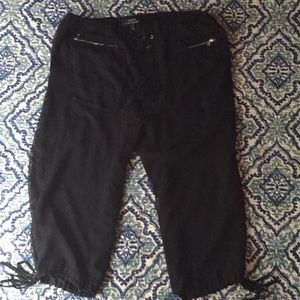 Robert Rodriguez cropped jogger pants black 8
